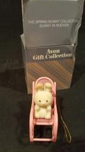 Avon Ornament The Spring Bunny Collection Bunny in Rocker - $8.90
