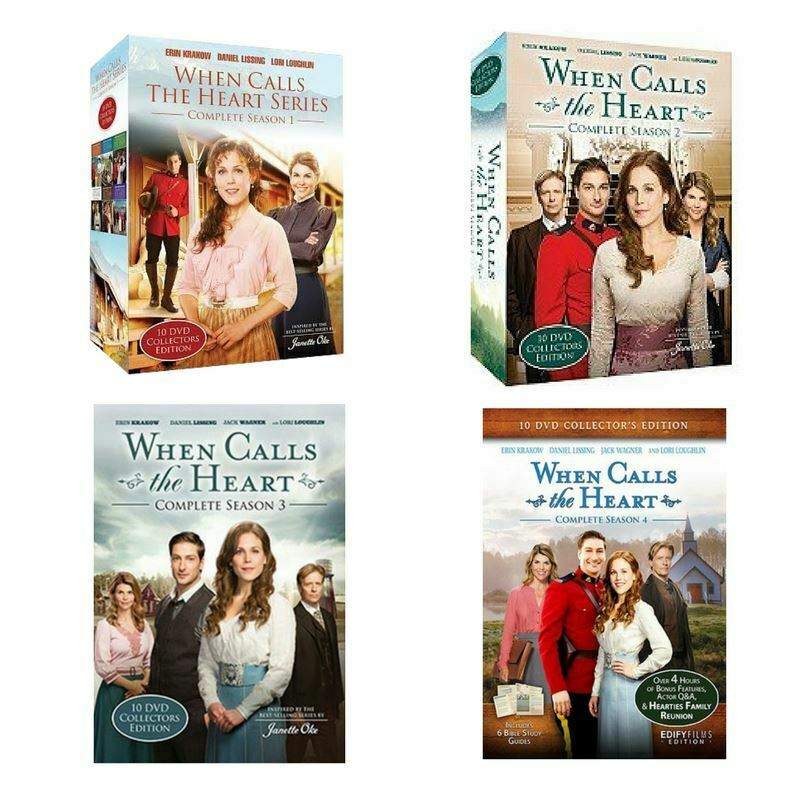 When calls the heart seasons 1  2  3  4 complete set 1