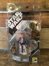 OBI-WAN & YODA San Diego Comic Con 30th Anniversary Action Figure NEW To... - $29.69