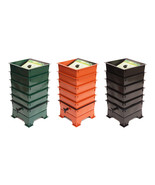 Worm Factory 3,4,5 Tray GREEN, BLACK, TERRACOTTA Worm Composter FREE SHI... - $109.95+