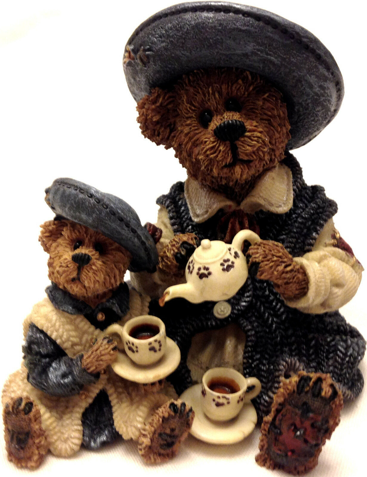 Primary image for Boyds Bears, Catherine Caitlin Fine Cup of Tea figurine in box 02000-21 Pristine