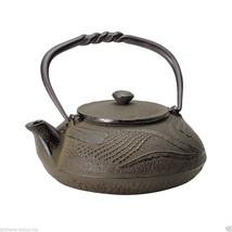 Nanbu Tetsubin - Tonbo (Dragonfly design) 0.4 Liter : Japanese Cast Iron Tea Pot - $177.64