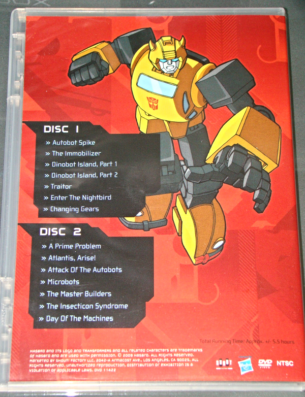 (DVD) Anime - TRANSFORMERS - SEASON TWO - VOLUME ONE - DISCS 1 & 2