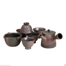 [Premium/VALUE] Tokoname Kyusu Set : Gyokko - 1 Pot, 1 Cooling Bowl, 5 Cups - $257.11