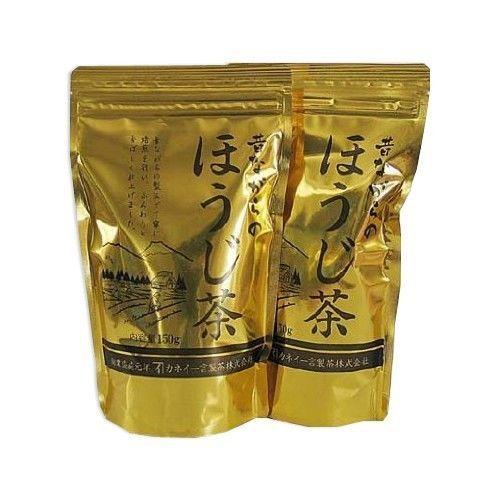 VALUE: [Decaffeinated] Golden Roasted Japanese tea 300g (150g*2packs) Houji-cha