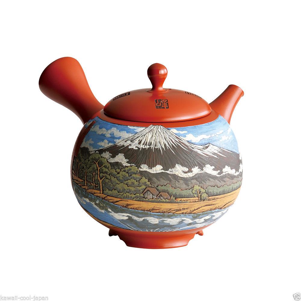 [Heritage/Limited] Tokoname Kyusu: Setsudo Yoshikawa- Mt.Fuji - Japanese Tea Pot