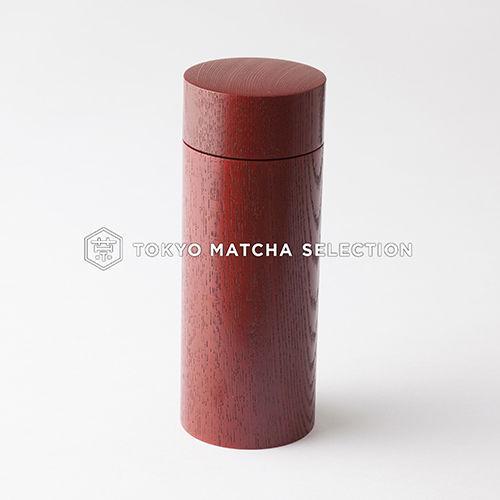 Oshima : Urushi Chazutsu Smart 3 color - Japan Lacquareware Tea Caddy Canister