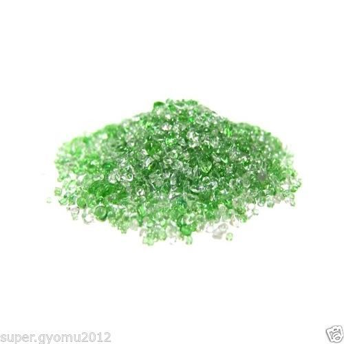 AQUARIUM GRAVEL CRYSTAL SAND 200g 1/4 Color Aqua Decoration New【WW-FreeShipping】