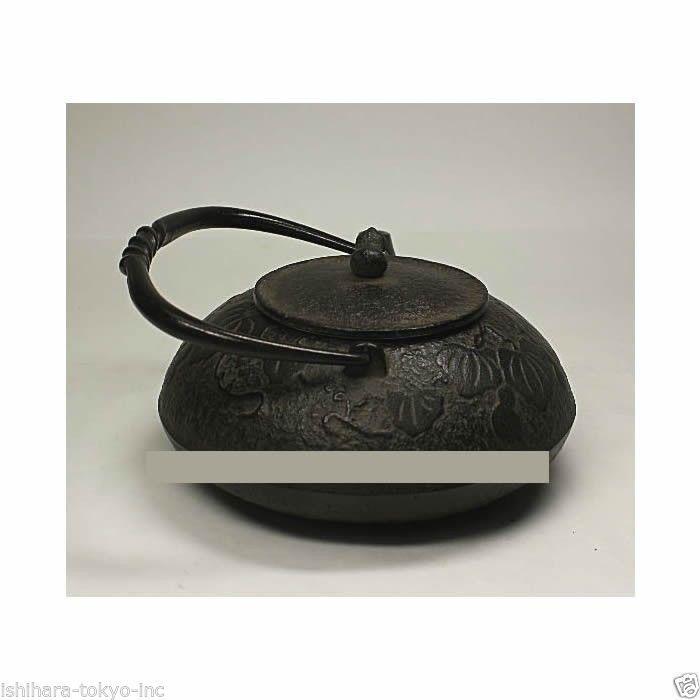 Nanbu Tetsubin - Hisago (Gourd design) 0.4 Liter : Japanese Cast Iron Tea Pot