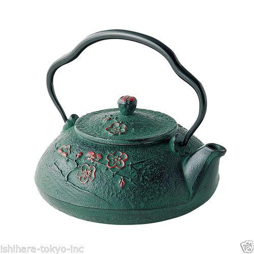 Nanbu Tetsubin: Shinonome Down - 2 color - Japanese Cast Iron Tee Pot from Iwate
