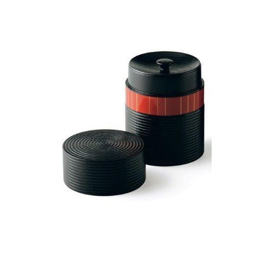 Urushi Chazutsu - Gold Line Short&Smart: Japan lacquareware tea canister storage