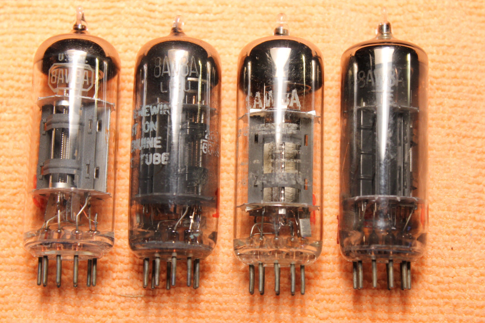 Vintage Radio Vacuum Tube (one): 8AW8A - Tested Good