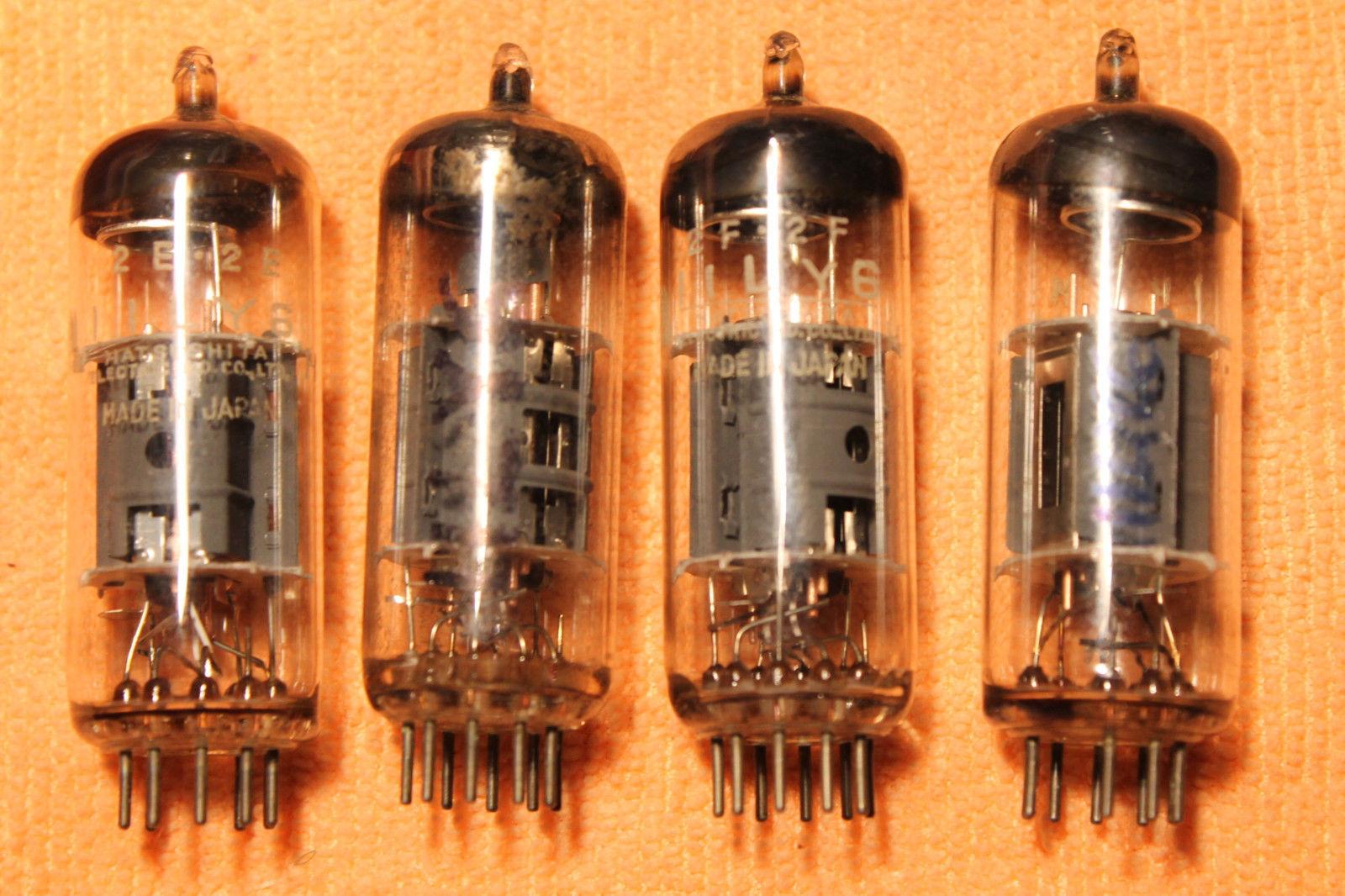 Vintage Radio Vacuum Tube (one): 11LY6 - Tested Good