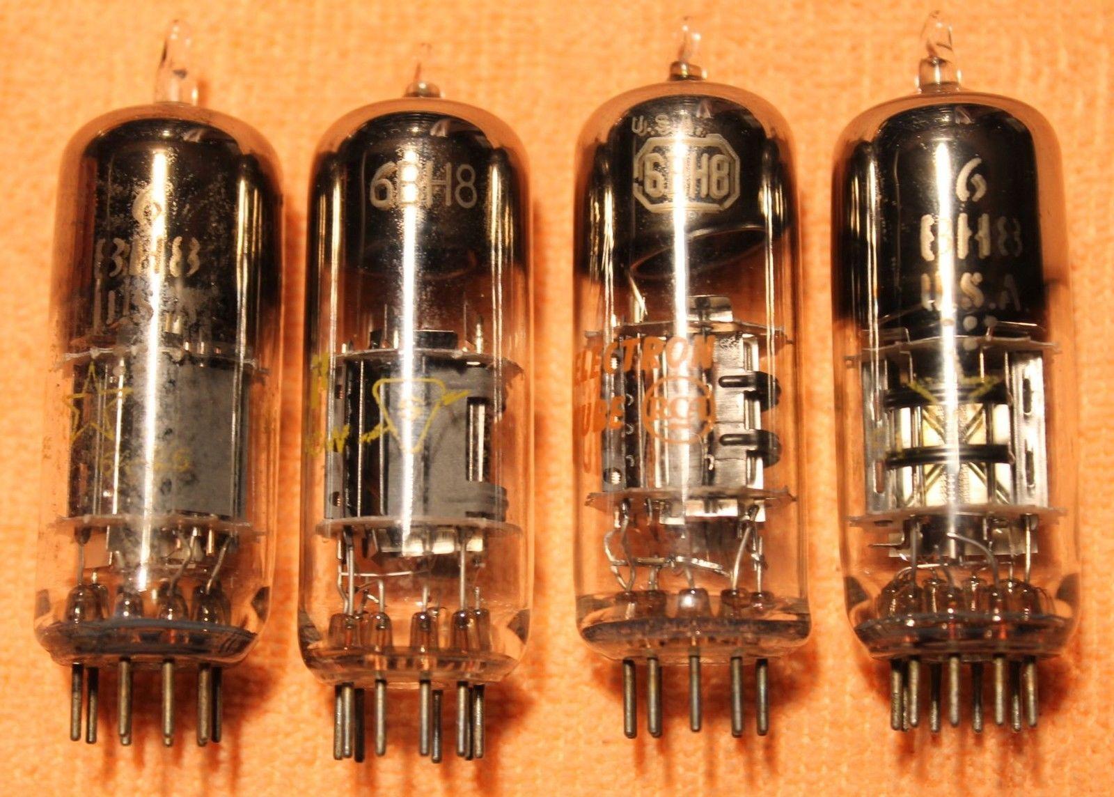 Vintage Radio Vacuum Tube (one): 6BH8 - Tested Good