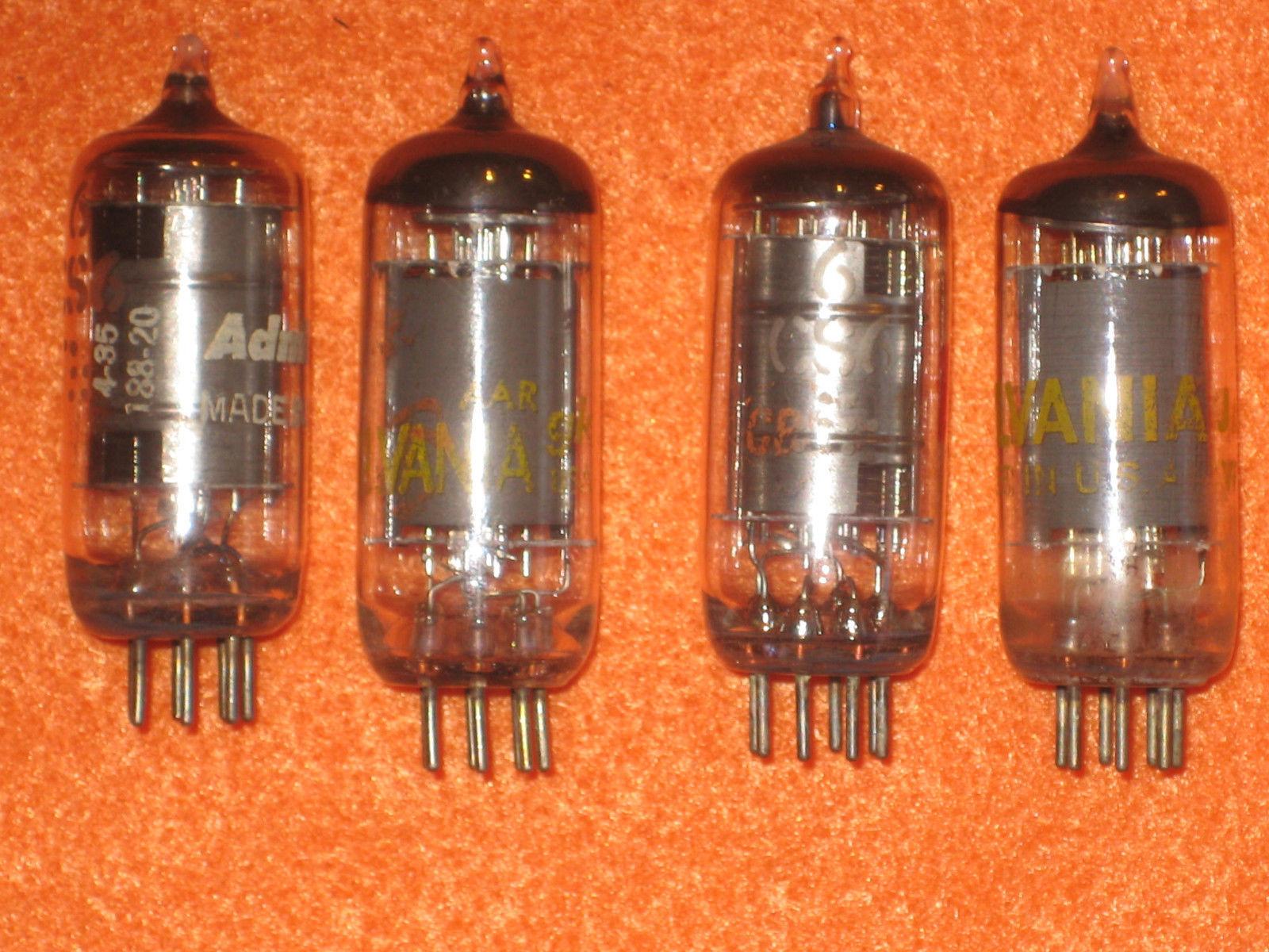 Vintage Radio Vacuum Tube (one): 6CS6 - Tested Good