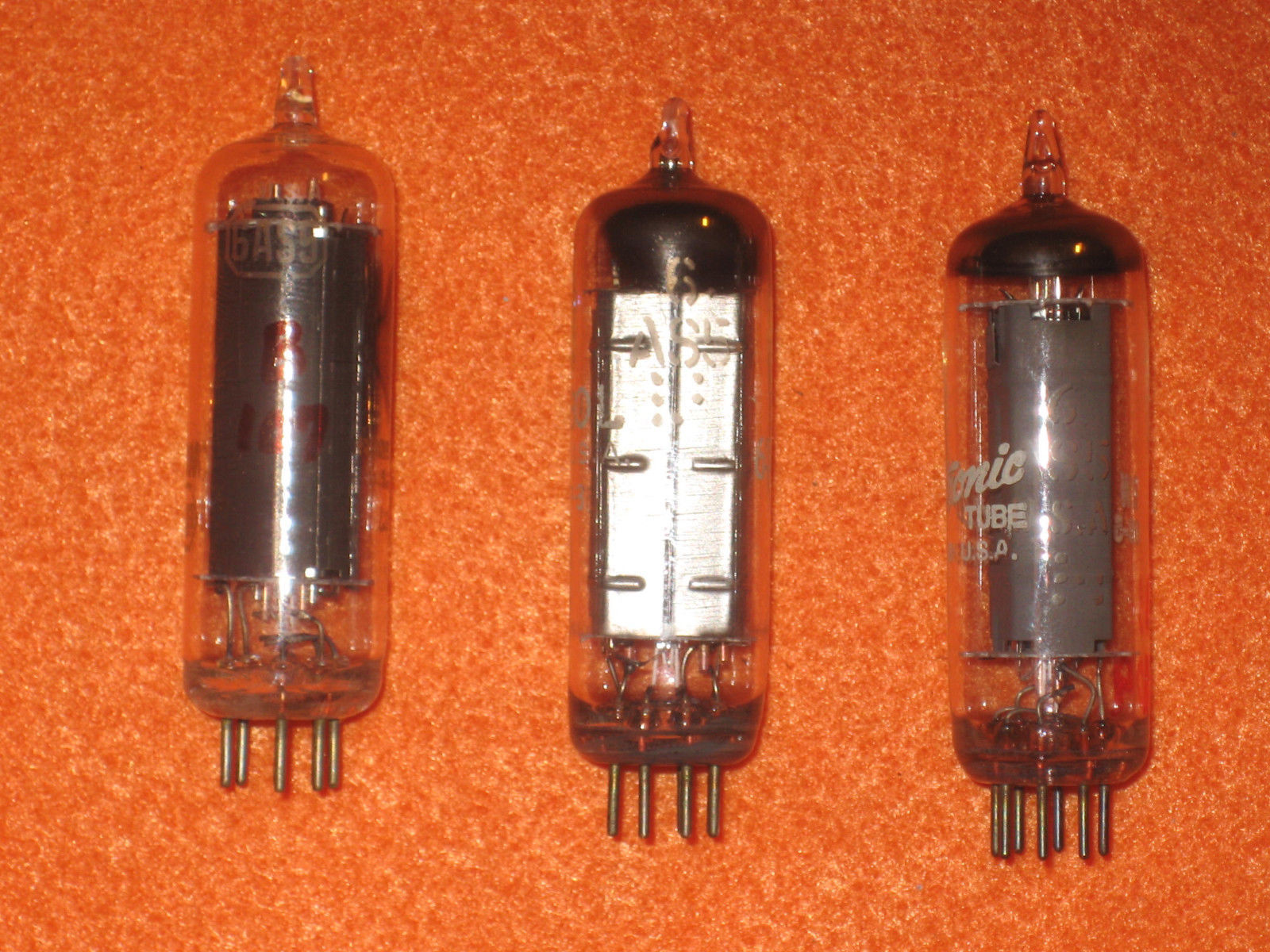 Vintage Radio Vacuum Tube (one): 6AS5 - Tested Good