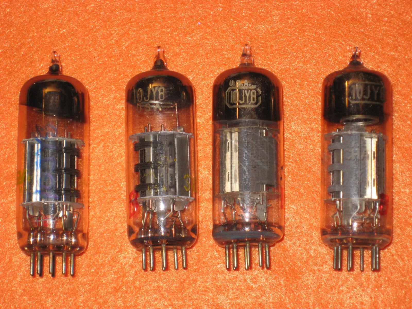 Vintage Radio Vacuum Tube (one): 10JY8 - Tested Good
