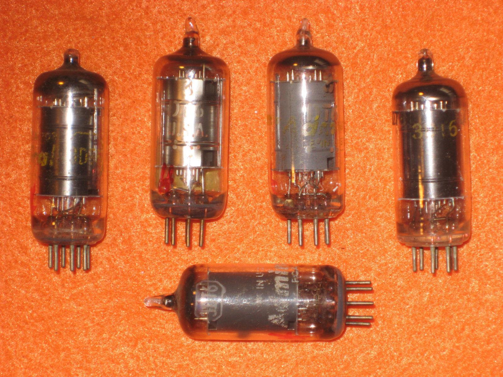 Vintage Radio Vacuum Tube (one): 3DT6 - Tested Good