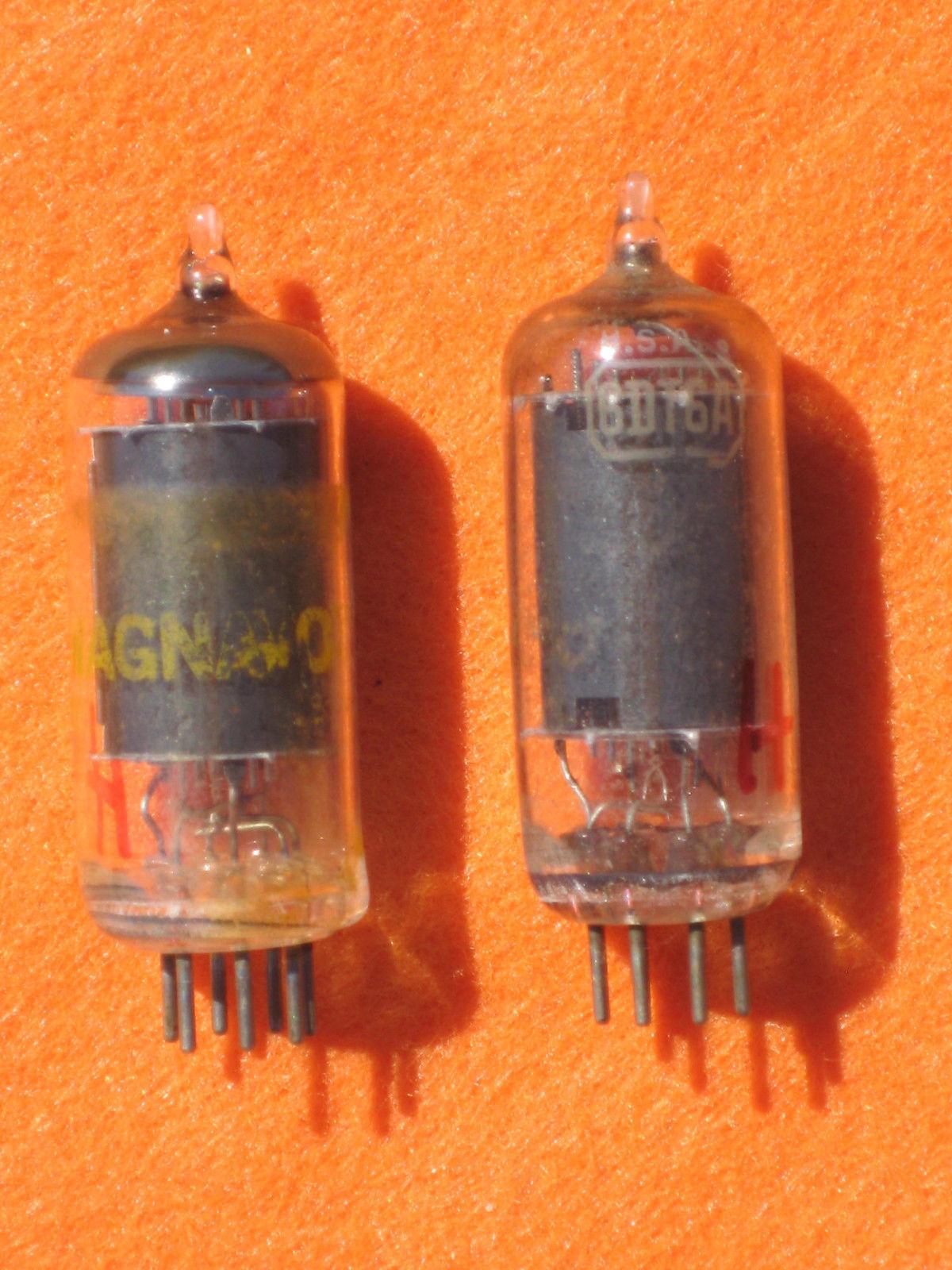 Vintage Radio Vacuum Tube (one): 6DT6A - Tested Good