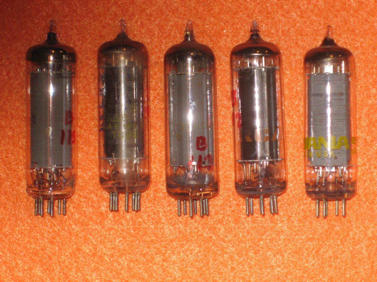 Vintage Radio Vacuum Tube (one): 12FX5 - Tested Good