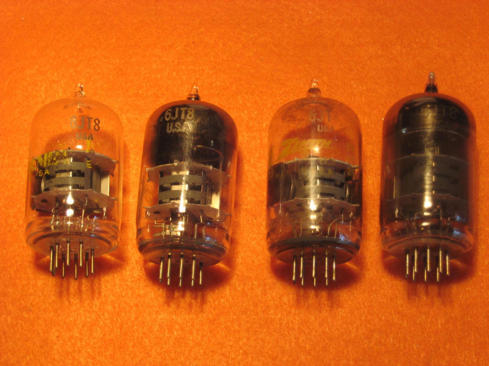 Vintage Radio Vacuum Tube (one): 6JT8 - Tested Good