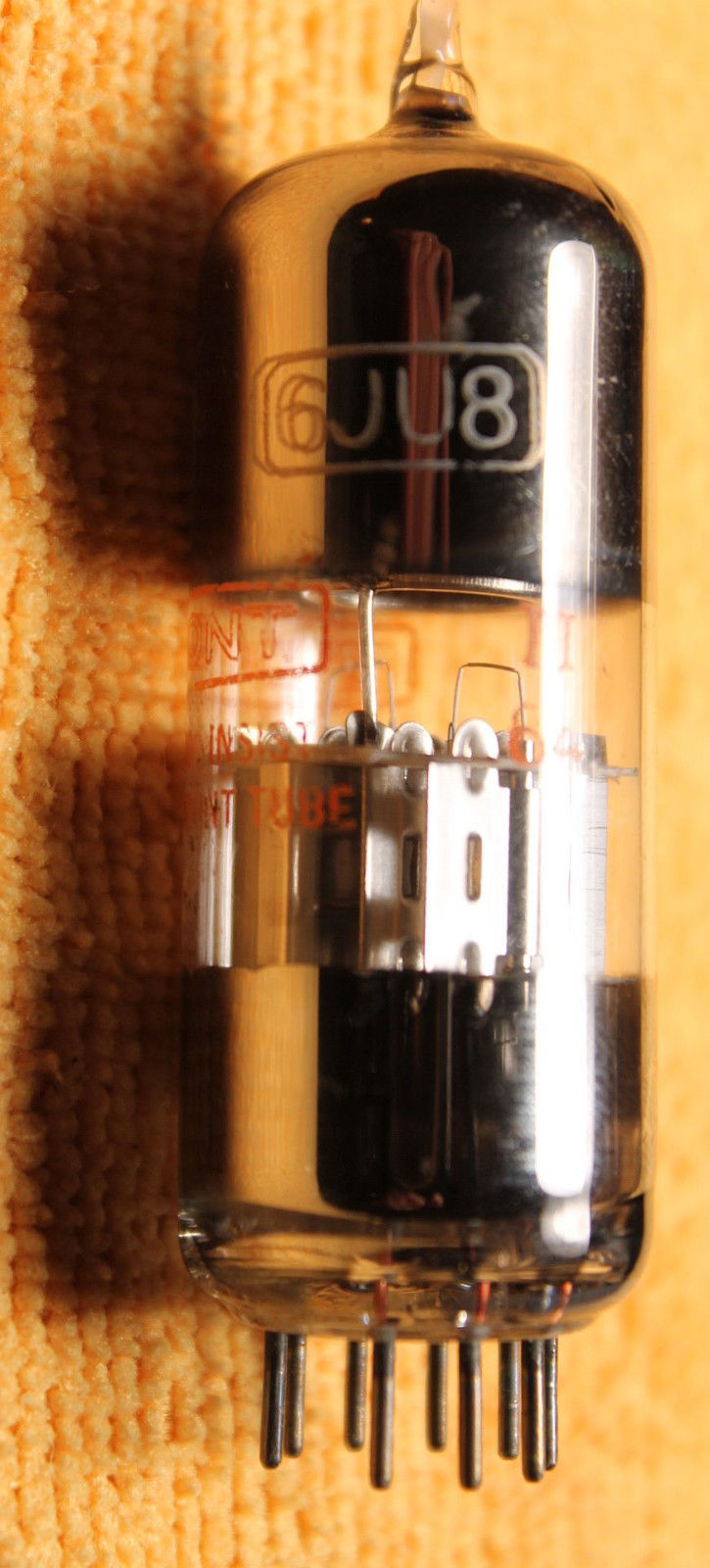 Vintage Radio Vacuum Tube (one): 6JU8 - Tested Good