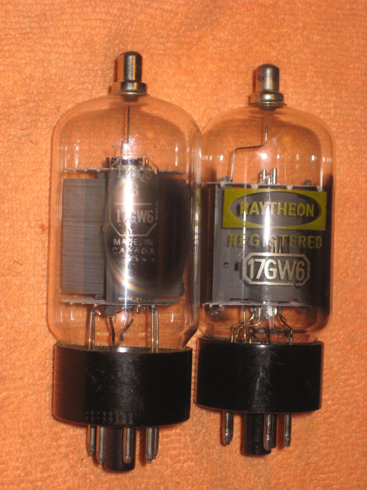 Vintage Radio Vacuum Tube (one): 17DQ6B / 17GW6 - Tested Good