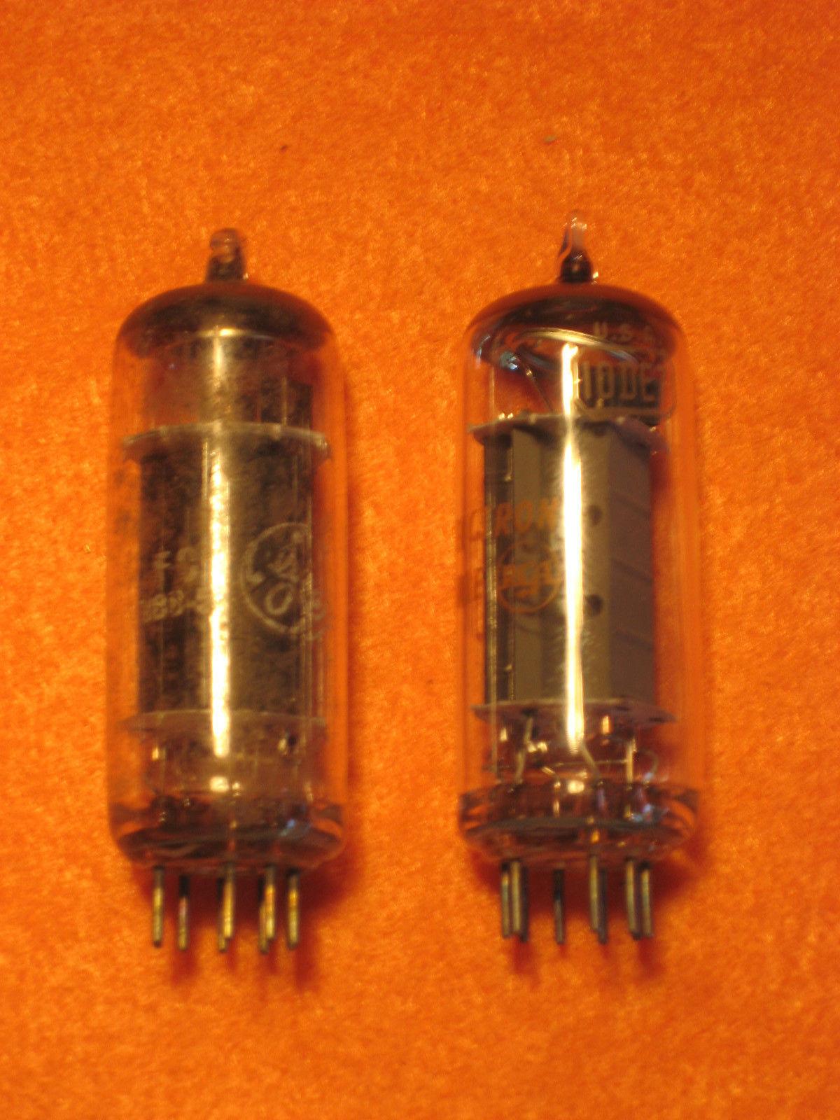 Vintage Radio Vacuum Tube (one): 10DE7 - Tested Good