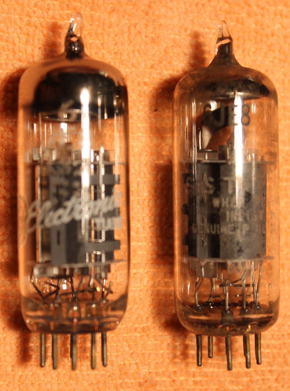 Vintage Radio Vacuum Tube (one): 6JE8 - Tested Good