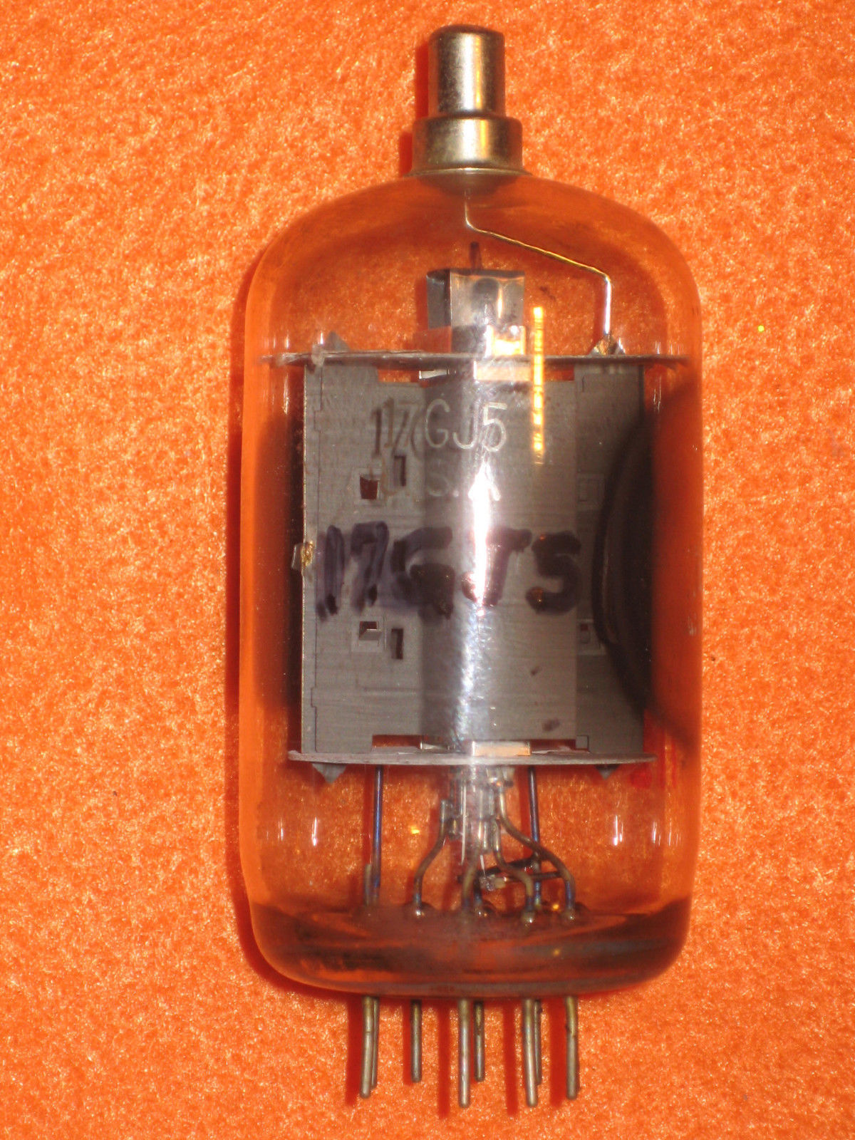 Vintage Radio Vacuum Tube (one): 17GJ5 - Tested Good