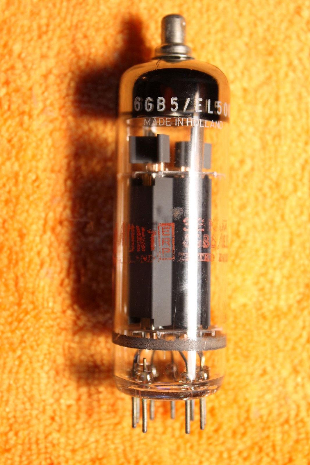 Vintage Radio Vacuum Tube (one): 6GB5 / PL500 - Tested Good