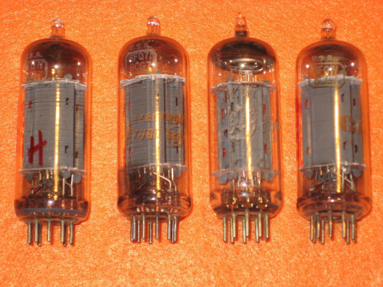 Vintage Radio Vacuum Tube (one): 8FQ7 / 8CG7 - Tested Good
