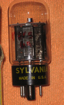 Vintage Radio Vacuum Tube (one): 17AV5 17AV5GA - Tested Good - $2.69