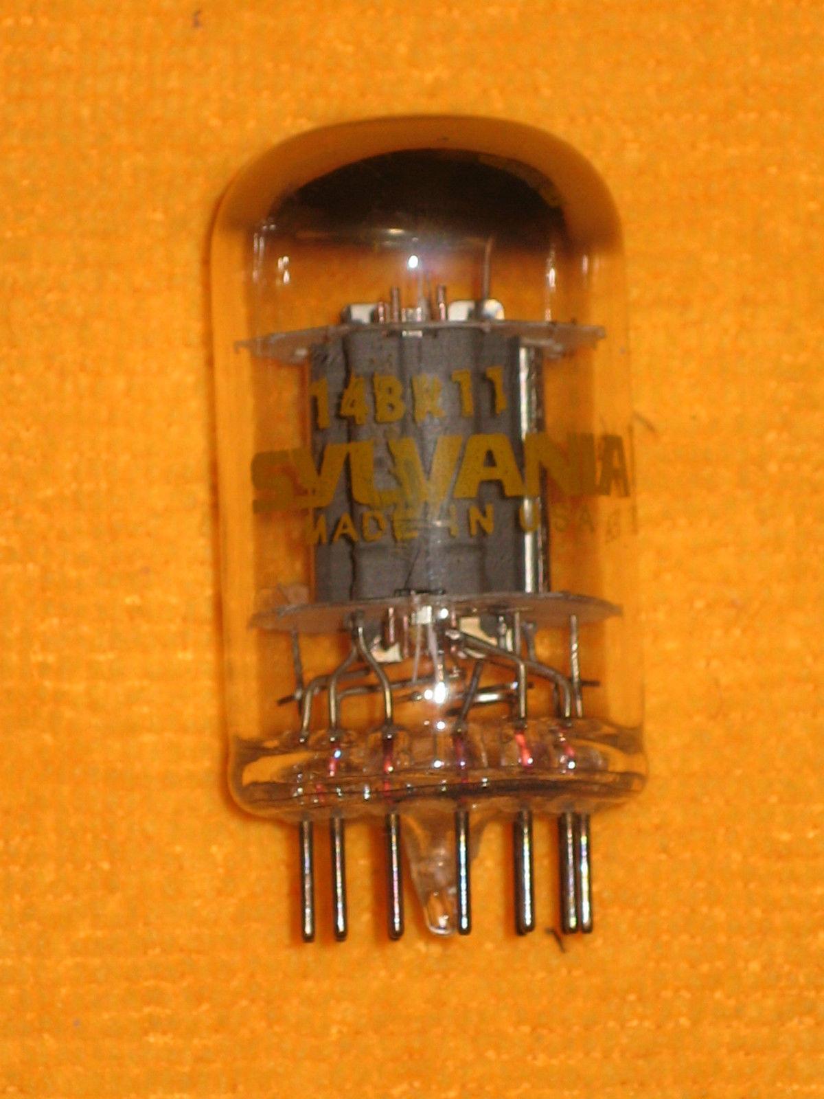 Vintage Radio Vacuum Tube (one): 14BR11 - Tested Very Good