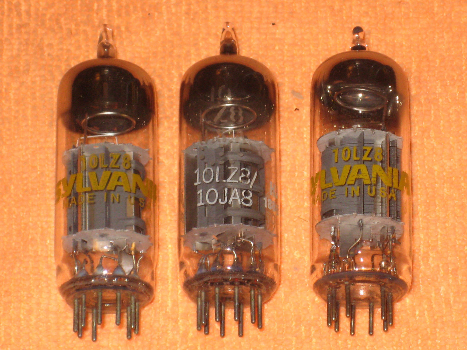 Vintage Radio Vacuum Tube (one): 10LZ8 - Tested Good