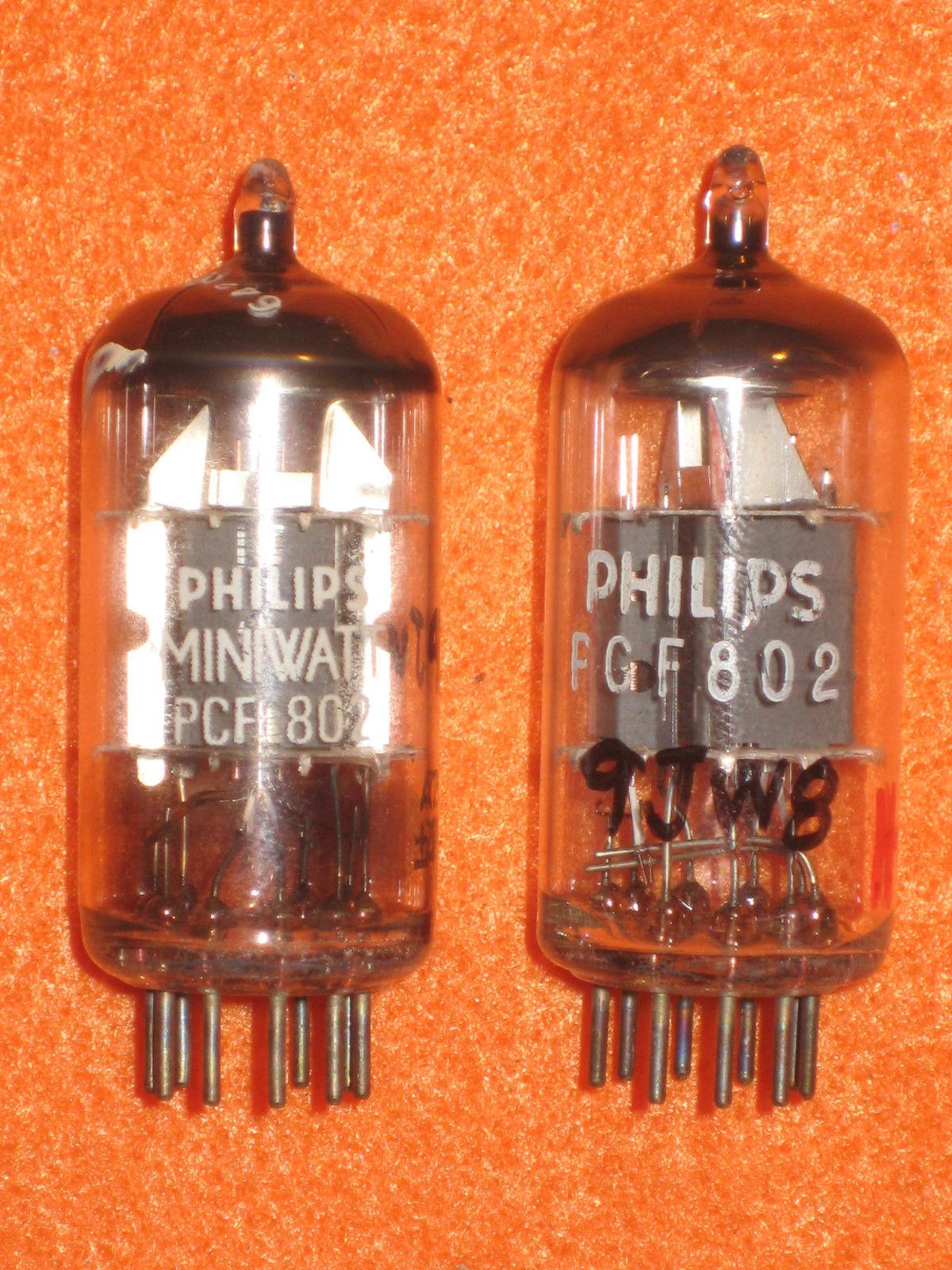 Vintage Radio Vacuum Tube (one): PCF802 - Tested Good