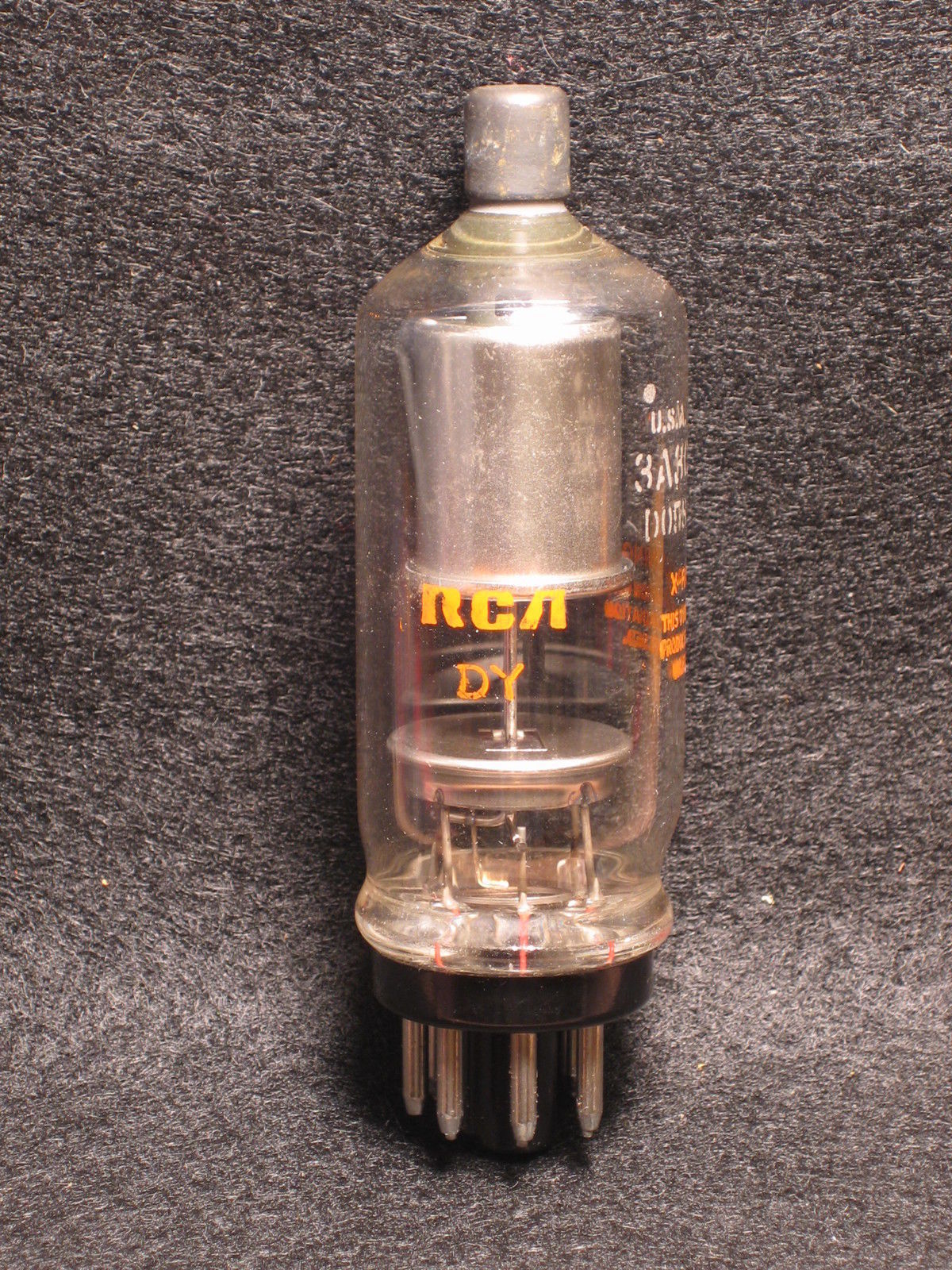 Vintage Radio Vacuum Tube (one): 3A3C - Tested Good