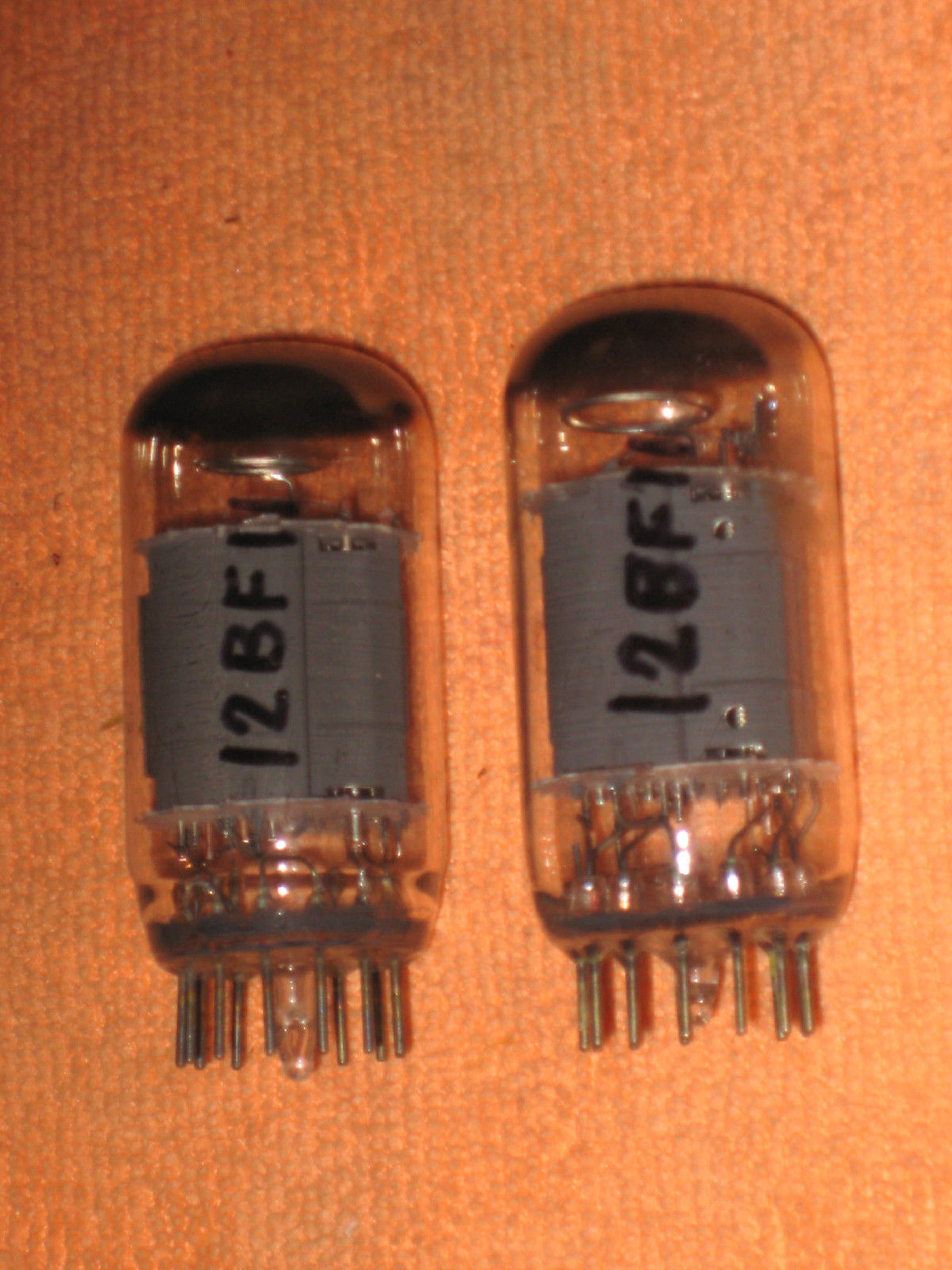 Vintage Radio Vacuum Tube (one): 12BF11 - Tested Good