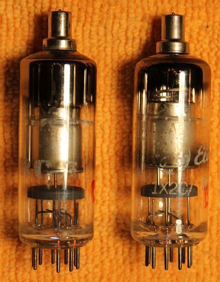 Vintage Radio Vacuum Tube (one): 1X2C / 1BX2  - Tested Good