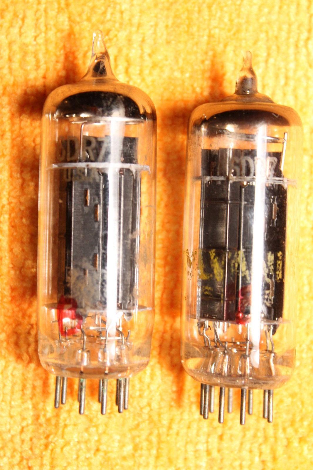 Vintage Radio Vacuum Tube (one): 6MU8 - Tested Good