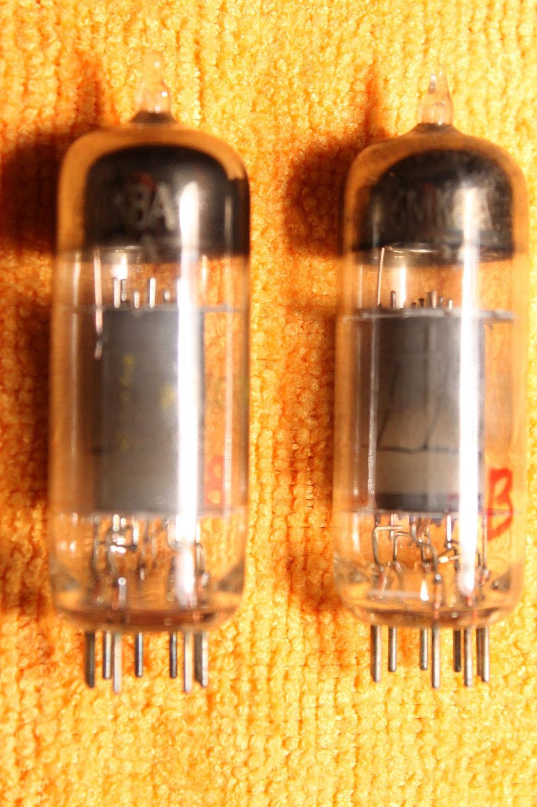 Vintage Radio Vacuum Tube (one): 6MK8A - Tested Good