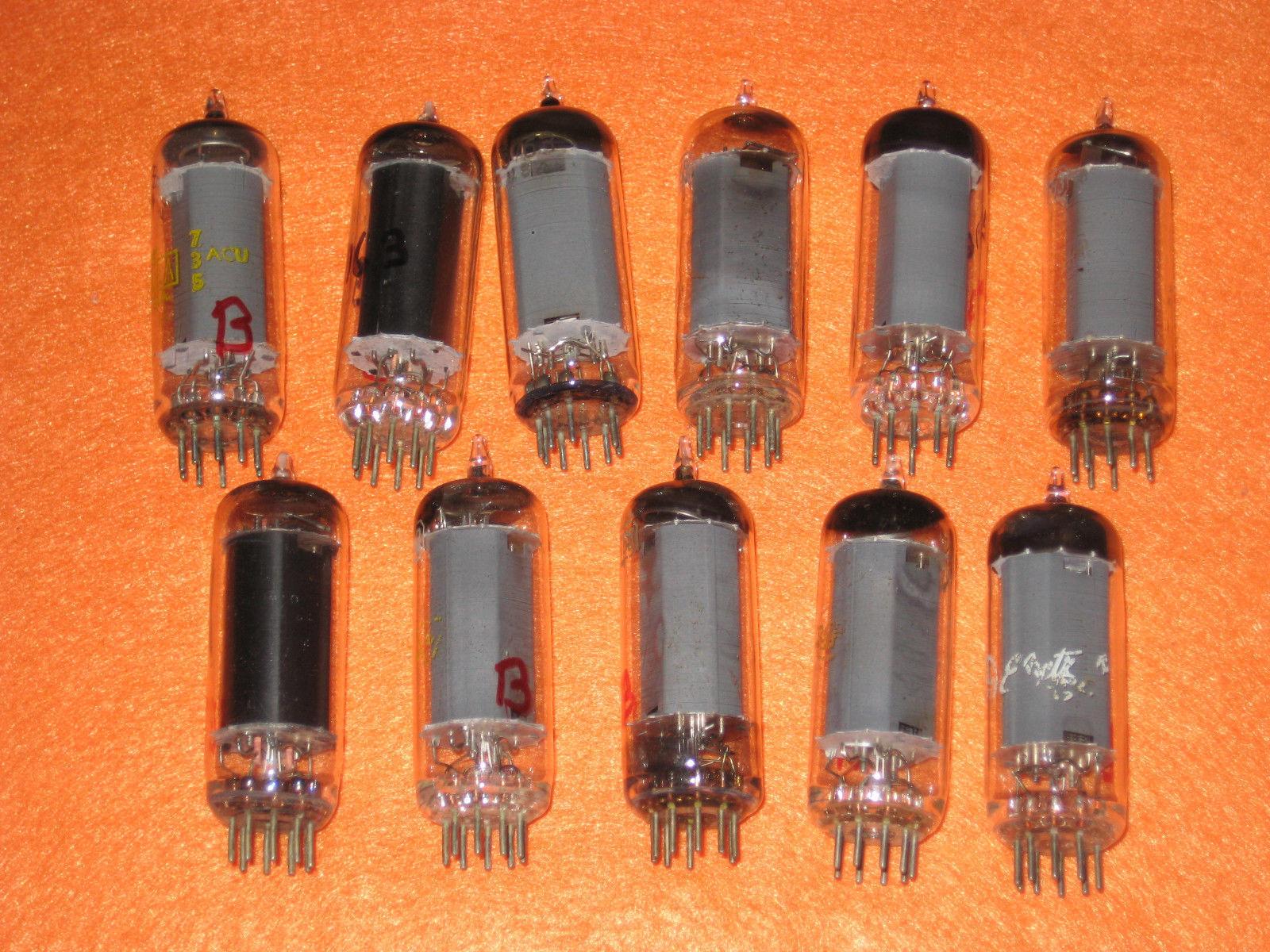 Vintage Radio Vacuum Tube (one): 5763 - Tested Very Good