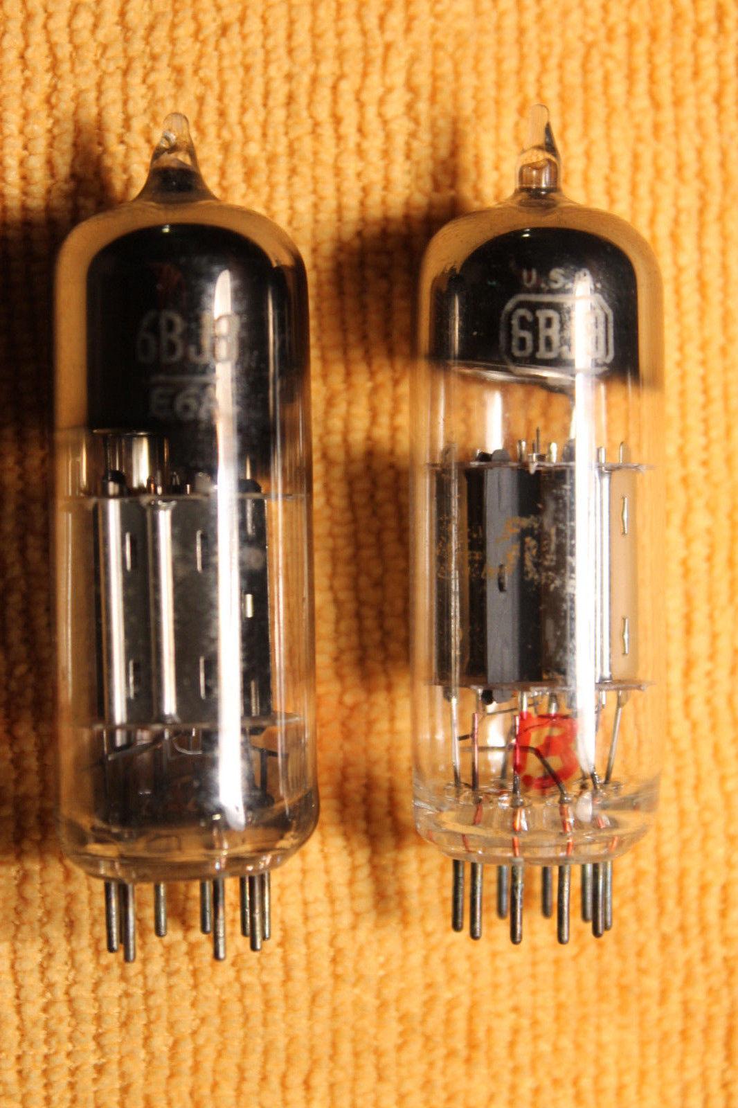 Vintage Radio Vacuum Tube (one): 6BJ8 - Tested Good