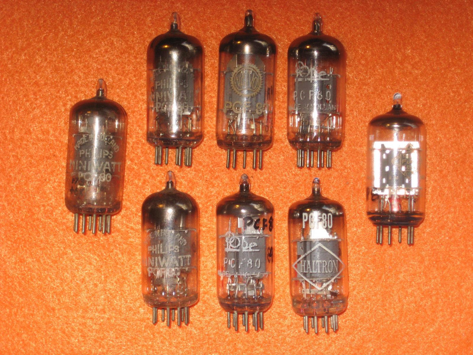 Vintage Radio Vacuum Tube (one): PCF80 - Tested Good
