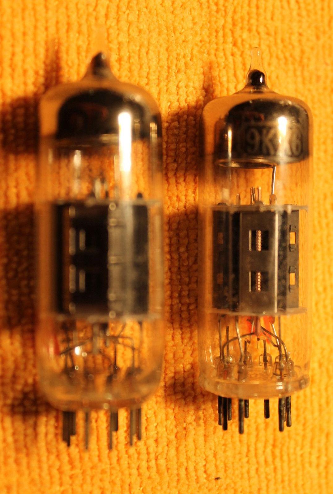 Vintage Radio Vacuum Tube (one): 9KX6 - Tested Good