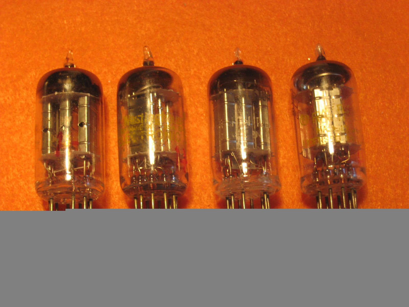 Vintage Radio Vacuum Tube (one): 6T8A - Tested Good