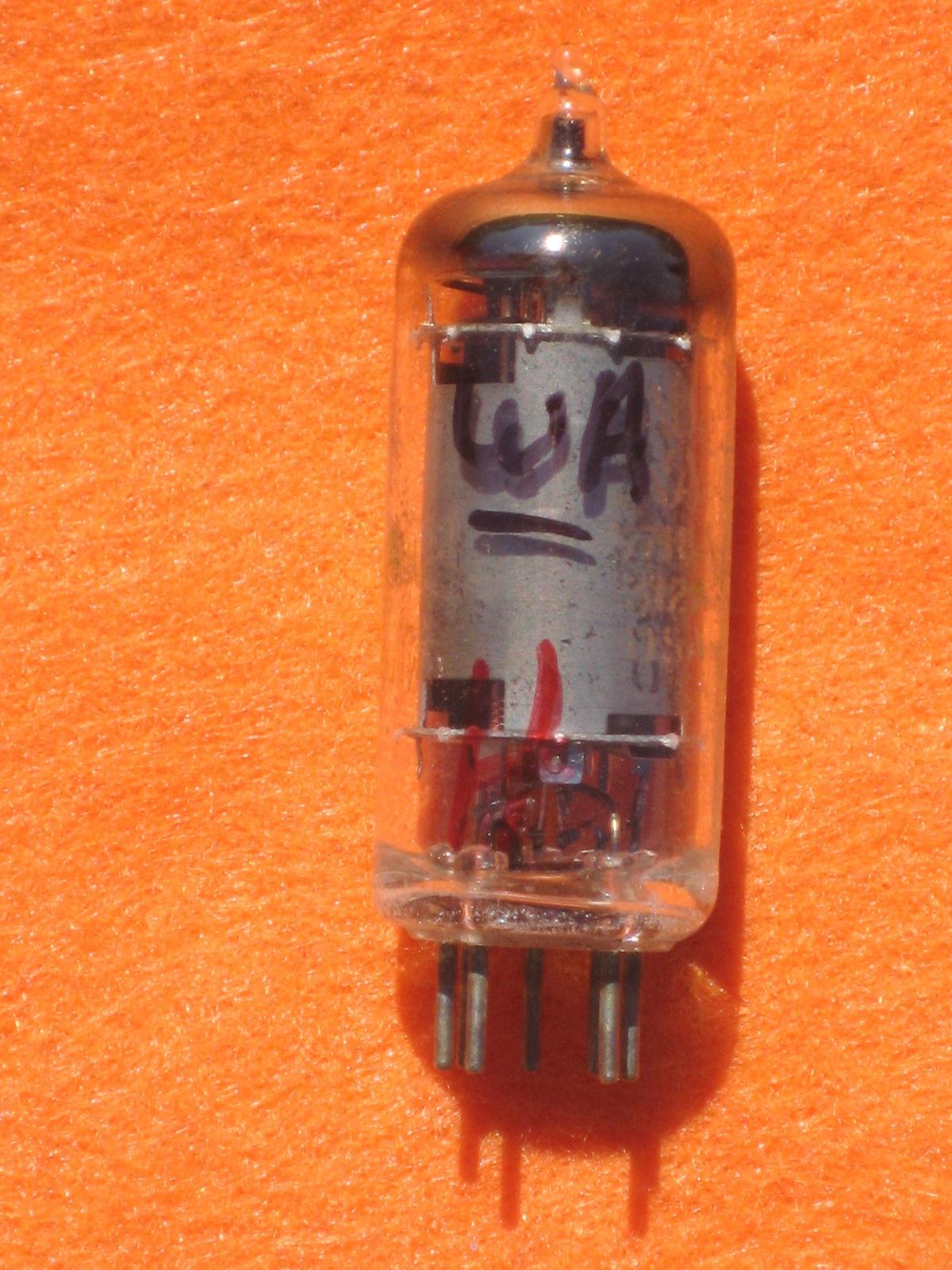 Vintage Radio Vacuum Tube (one): 6AU6 6AU6WA - Tested Good
