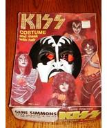 KISS GENE SIMMONS HALLOWEEN COSTUME IN BOX 1978 - $494.01