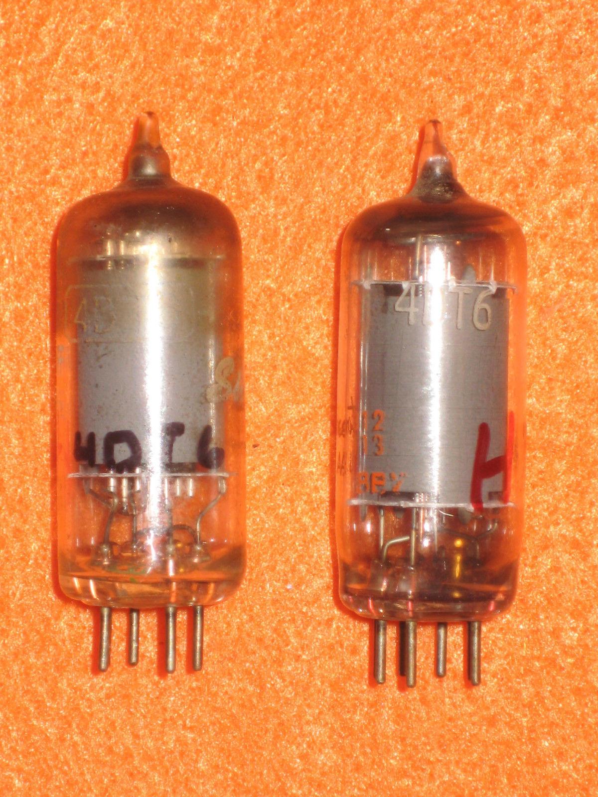 Vintage Radio Vacuum Tube (one): 4DT6 - Tested Good