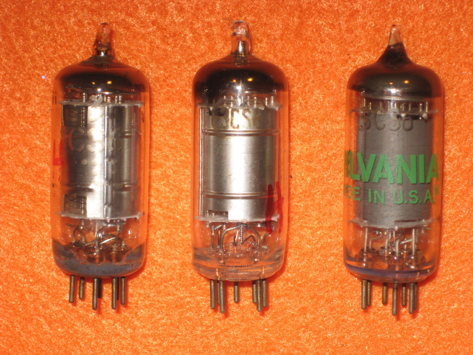 Vintage Radio Vacuum Tube (one): 3CS6 - Tested Good